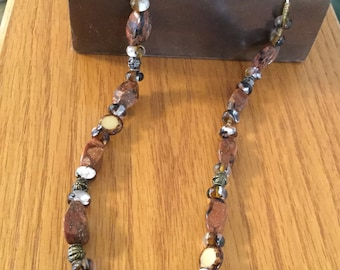 Brown Cat's Eye Necklace