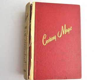 vintage cook book 'Cooking Magic""