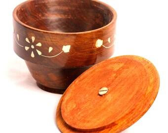 Aakashi Wooden Bowl set