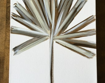Palm III 12x16 original on canvas