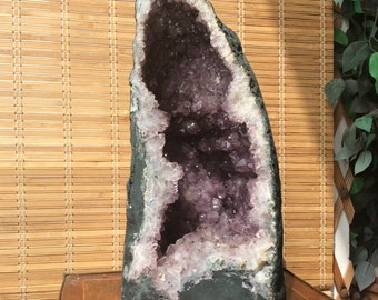 The Giant Natural Amethyst Stone 28.6 Kg -63 lbs large size Amethyst geode cathedral