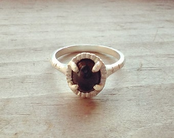 RG-006 Onyx Cupcake Ring