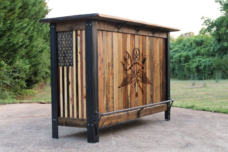 Military Bar Patriotic Furniture Military Furniture