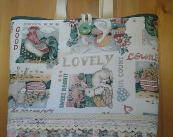 Vintage farmyard bag