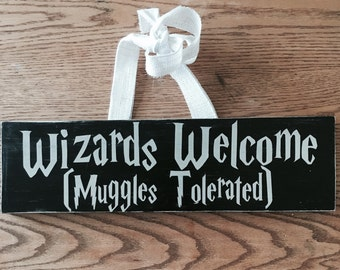 Harry Potter Decor, Harry Potter gift, Harry Potter Doorhanger, Harry Potter Christmas GIft, Harry Potter Gift, Harry Potter