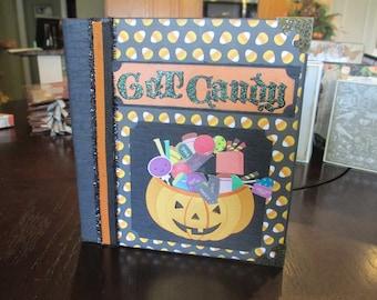 Got Candy? Halloween mini album