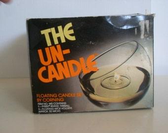 Vintage Corning Ware Un-Candle