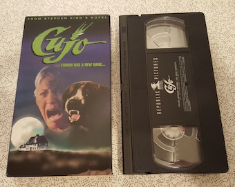 Cujo -VHS- 1983- Stephen King