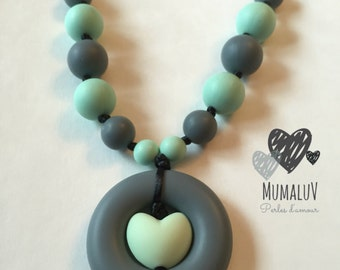 Teether for MOM necklace / Teething necklace for mom