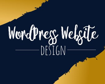 WordPress Website - Four Pages including setup