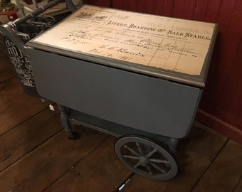 Vintage Tea Cart/Bar Cart