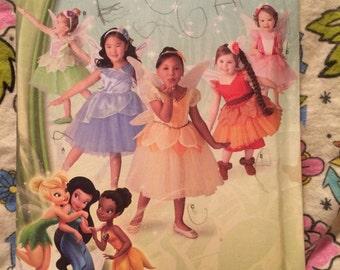 Simplicity 1792 disney fairies halloween costumes