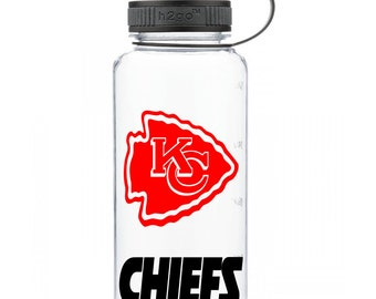 Kansas City Chiefs Personalized Water Bottle