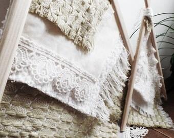 Tipis wood textile