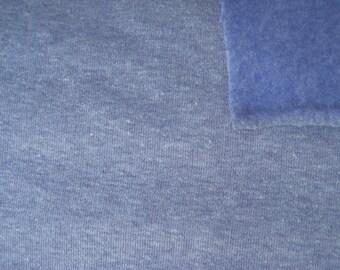Sweat-cloth jeans blue mix