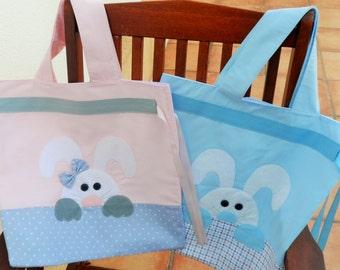 Bolsa de tela para niño