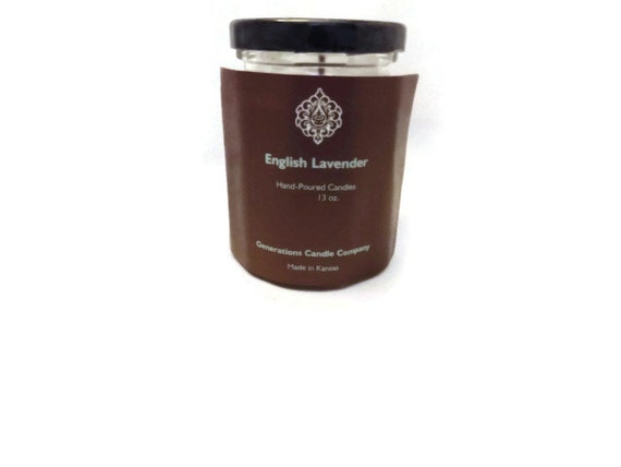 English Lavender 9 oz. Twelve Sided Jar