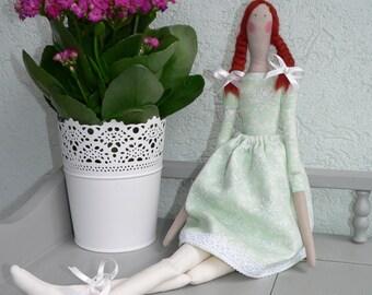 Tilda doll - Angel doll - Handmade - Vintage - Gift - Home decoration - Home decor - Interior SPRING