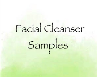 Samples for Facial Cleansers. Face wash. Natural face wash. Facial grains. Cleansing powder. Foaming grains. Charcoal cleanser. Skincare.