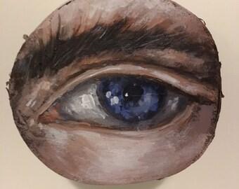Lavender Blue Eye
