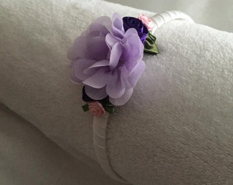 Handmade Lilac Flower Headband