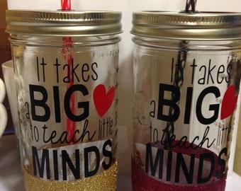 Big Hearts Sparkle Jar