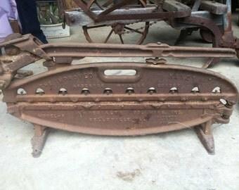 Vintage, metal shingle cutter