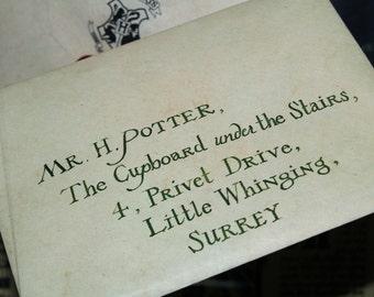 Hogwarts letter- deluxe!
