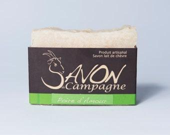savon en barre exfoliant-lait de chevre frais-savon hydratant-