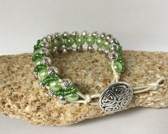 Fancy Green Bracelet