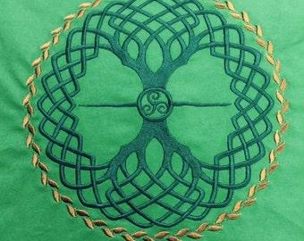 Tree of Life Green Altar Cloth