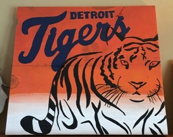 Detroit Tigers Wall Decor