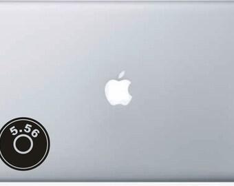 Laptop Decal 5.56 Bullet Case