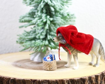 Wolf Cake Topper Little Red Riding Hood Party
