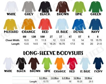 Infant and Toddler Longsleeve Upgrade