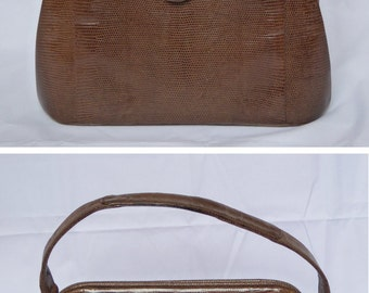 Vintage Leather Brown Finnigan's of Bond Street Handbag