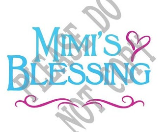 Mimi's Blessing, SVG