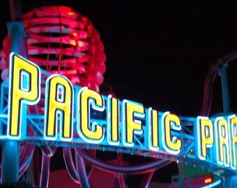 Sign-symbol Santa Monica Pier