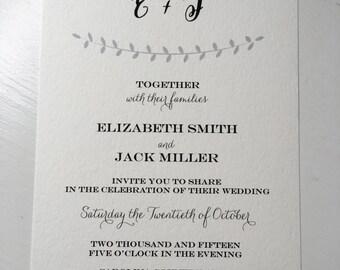 Modern Invitation *digital file only*