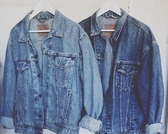 Pick Your Own | Light or Dark Wash Oversized Denim Jacket