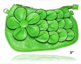 3-D Rose Shoulder Bag
