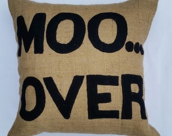 Sassy Cow Decorative Pillow Combo