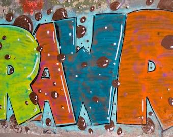 Rawr Graffiti Image