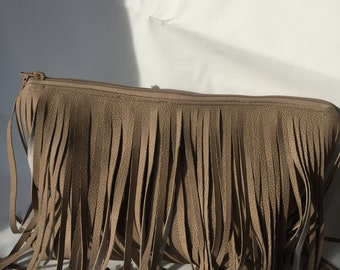 Frayed not Scared Clutch