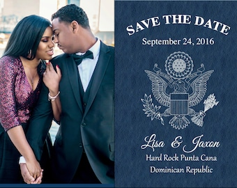 ADD ON** box of 50 5x7 Save the Date Passport Postcard Prints