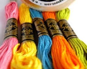 DMC Embroidery Floss/Cross Stitch thread/Cross Stitch Floss/Embroidery/Needlework/ DMC /Embroidery Floss Threads