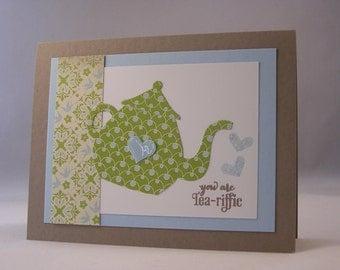 Handmade Thinking of You/Friendship Greeting Card