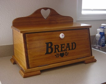 Country Style Breadbox