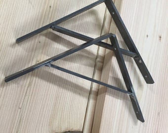 Steel Shelf Brackets - Set of 2