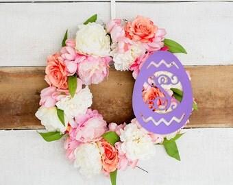 Easter Egg Wooden Monogram